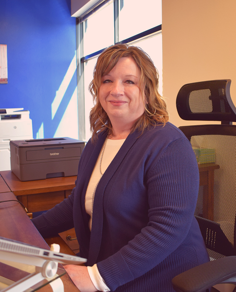 Stacy Gibson, Bookkeeper