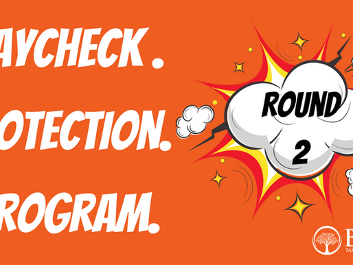 Paycheck Protection Program Round 2
