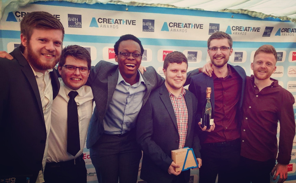 BA1 Radio at the Creative Bath Awards