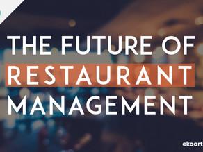 The future of restaurant management