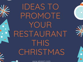 Ideas to promote your restaurant this Christmas