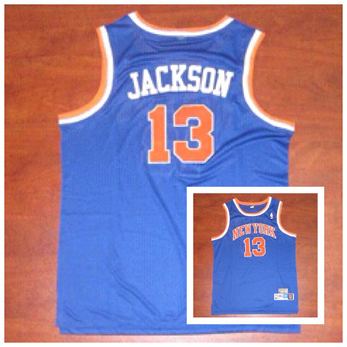 competitive price a09c0 74437 Mark Jackson New York Knicks Jersey
