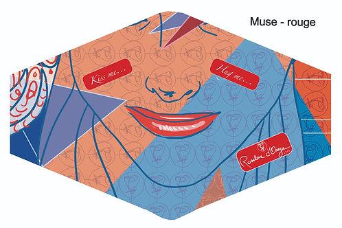 Masques en soie - 9 designs différents