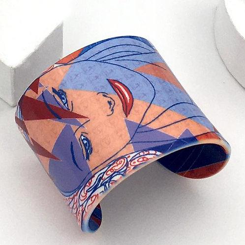 """Bracelet """"Les muses - la femme au foulard"""""""