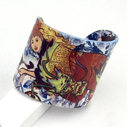 """Bracelet """"Les dragons de notre vie"""""""