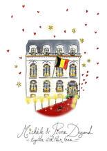 collaboration degand façade dessins couleurs