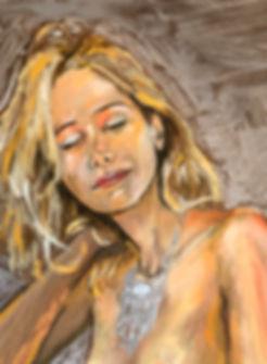selfportrait Roseline d'Oreye