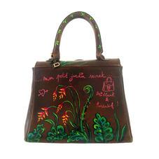 sac Delvaux Brillant - personnalisation cuir customise - dos