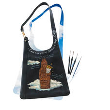 sac Delvaux - personnalisation cuir customise - devant