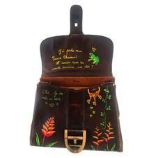 sac Delvaux Brillant - personnalisation cuir customise -intérieur