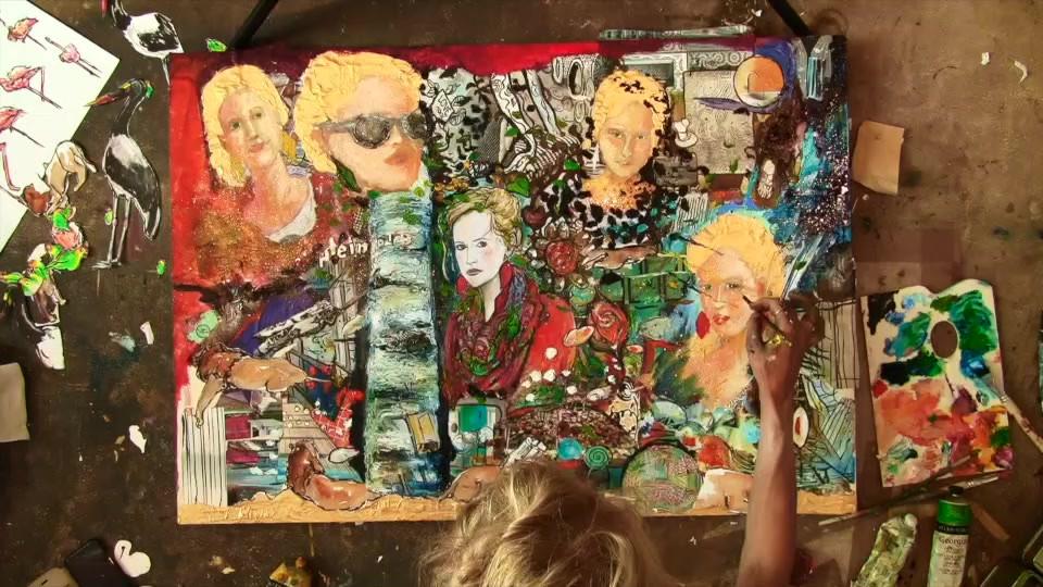Rose Lhyn-Décomposition de la couleur - Fragmentation du moi