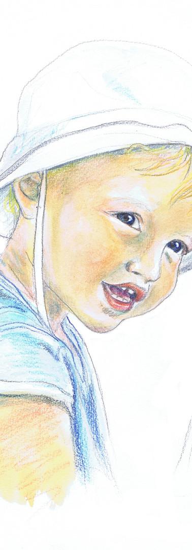 Portrait enfant bébé