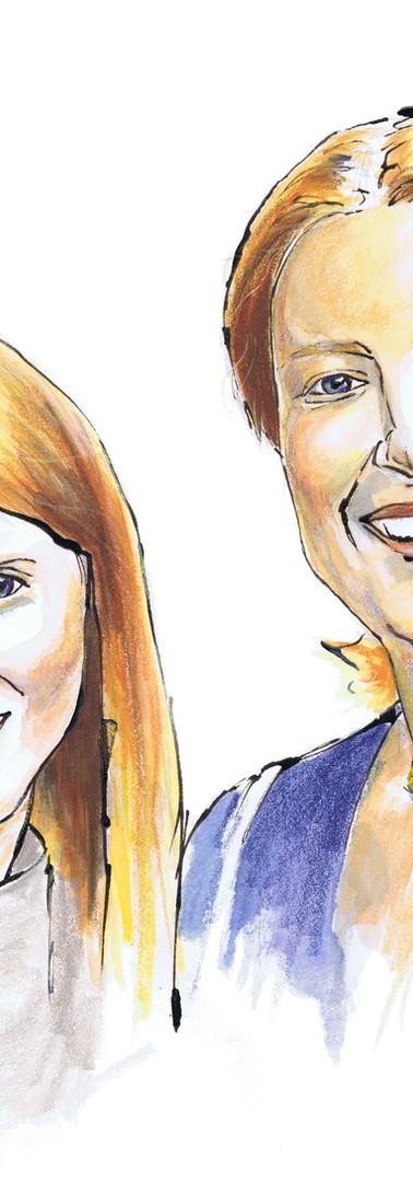Portraits soeurs united kingdom