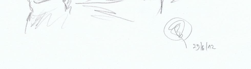 portrait graçon crayon noir et blanc
