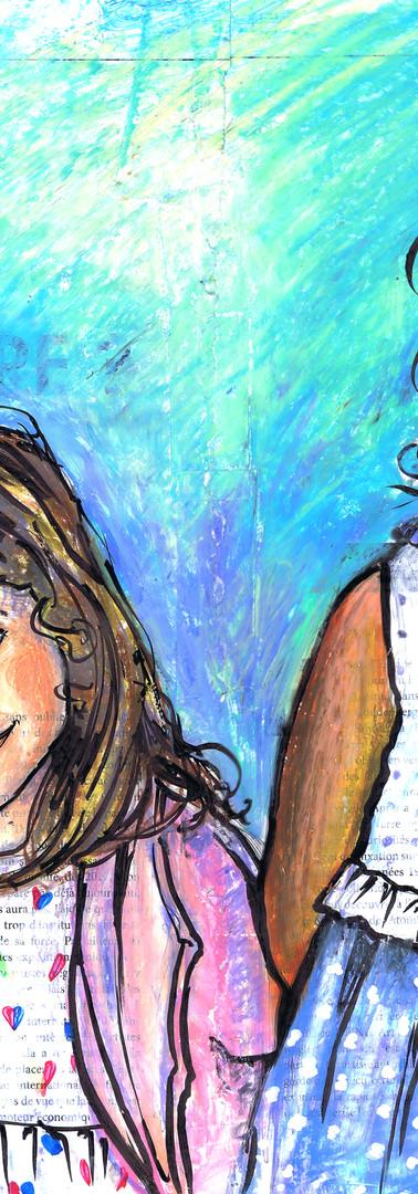 Portraits filles - 2 soeurs