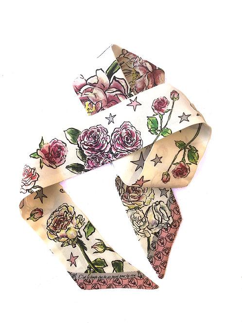 "Nastrito ""Les Roses - Blanc"""
