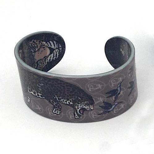 """Bracelet pour homme """"La Panthère - sombre"""""""