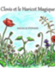 faire-part naissance Roseline d'Oreye fleurs haricot magique histoire petite soeur grand frère