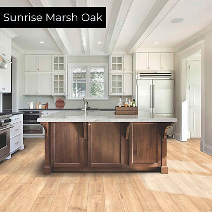Sunrise Marsh Oak Rigid Luxury Vinyl Flooring, Sample