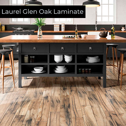 Laurel Glen Oak Laminate Flooring, Sample