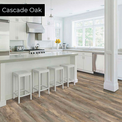 Cascade Oak Rigid Luxury Vinyl Flooring, Sample