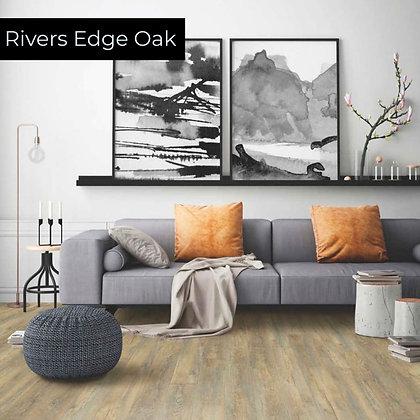 Rivers Edge Oak Rigid Luxury Vinyl Flooring, Sample