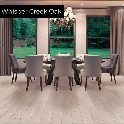 Whisper Creek Oak Laminate Flooring, Sample