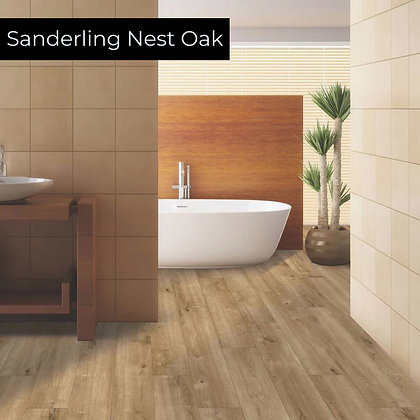 Sanderling Nest Oak Rigid Luxury Vinyl Flooring, Sample
