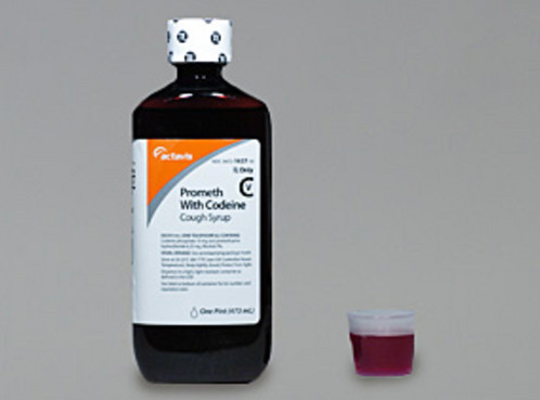 Actavis Promethazine With Codeine Caught Syrup