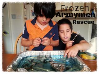 Frozen Armymen Rescue