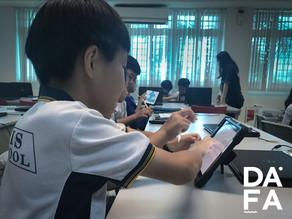DAFA goes east at Pasir Ris Primary School!