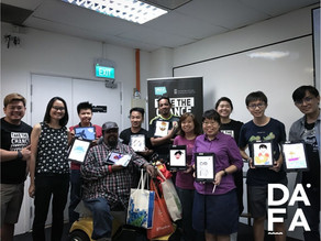 DAFA returns with our digital art trainer, Issac Liang!