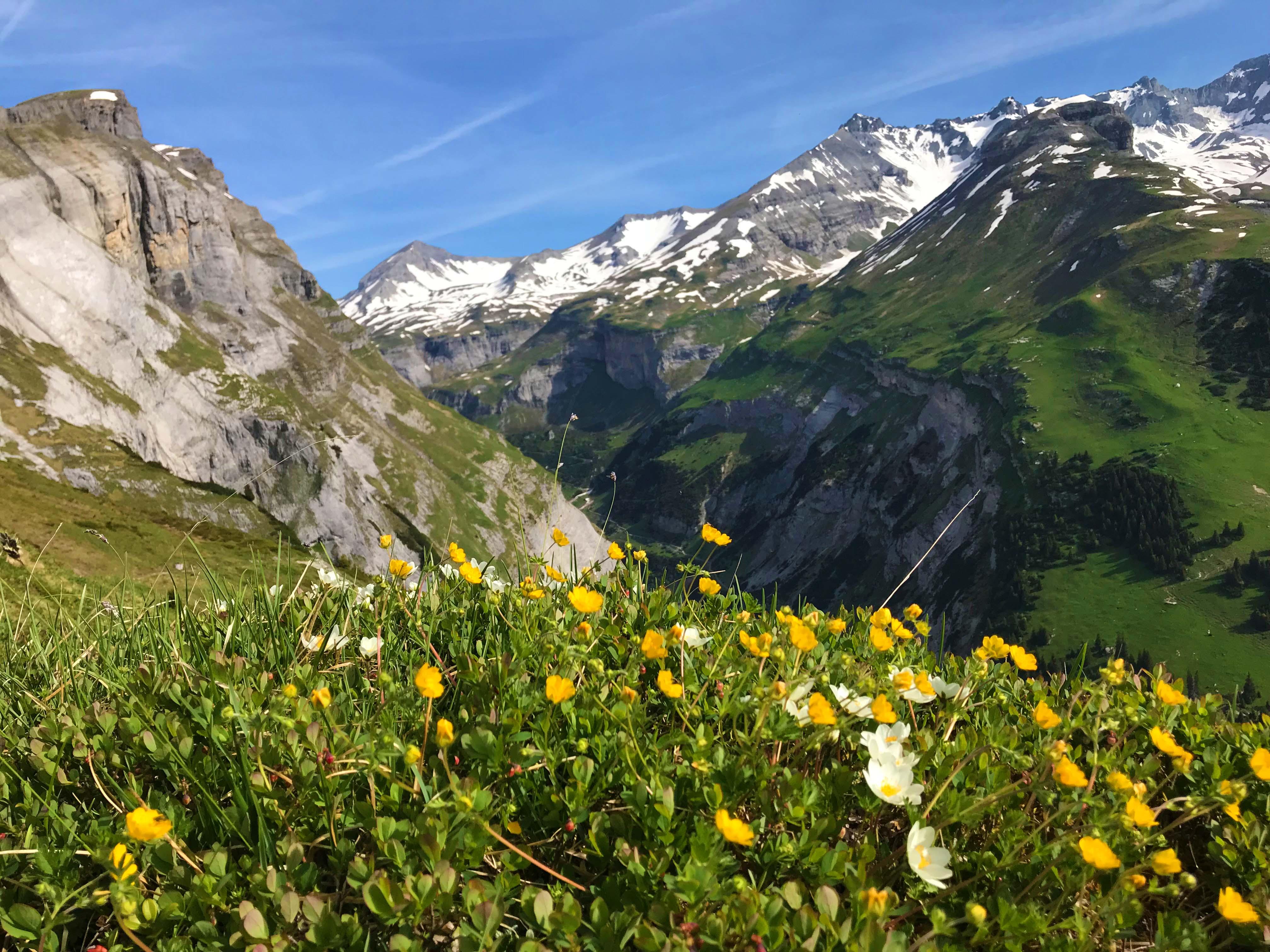 Klettersteig Pinut : Klettersteig pinut flims gr berge schweiz derbergler