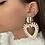 Thumbnail: Boucles d'oreilles Poldie beige