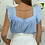 Thumbnail: Blouse Viviana bleue