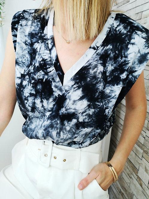 Tee-Shirt Tie & Dye Terence Noir