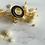 Thumbnail: Bague Cuarzo dorée