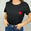 Thumbnail: Tee-shirt coeur rouge
