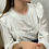 Thumbnail: Blouse Isabel blanche