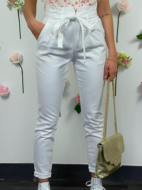 Pantalon Tyler blanc
