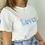 Thumbnail: Tee-shirt Lovers bleu