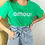 Thumbnail: Tee-shirt Amour vert