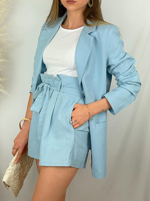 Short Maika bleu