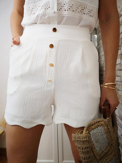 Short Miki Blanc