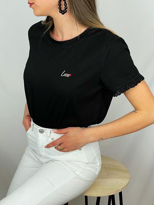 Tee-shirt Aiko noir
