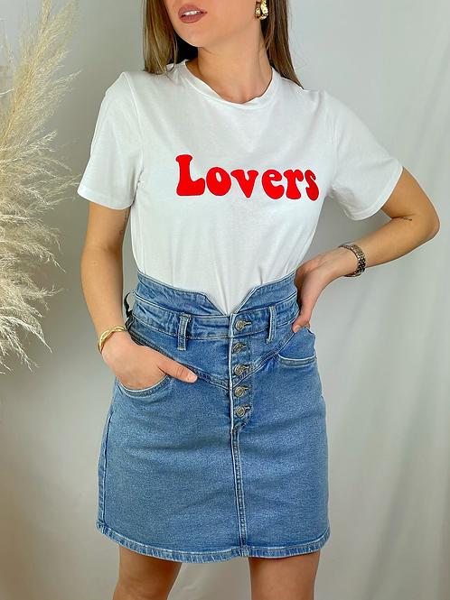 Tee-shirt Lovers rouge