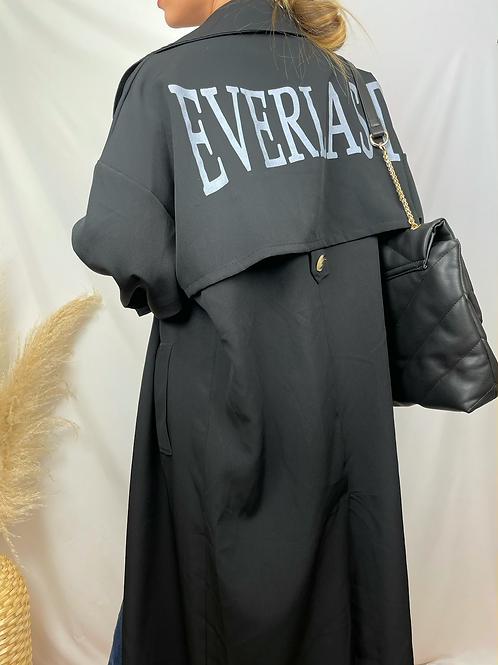 Trench Everlast noir