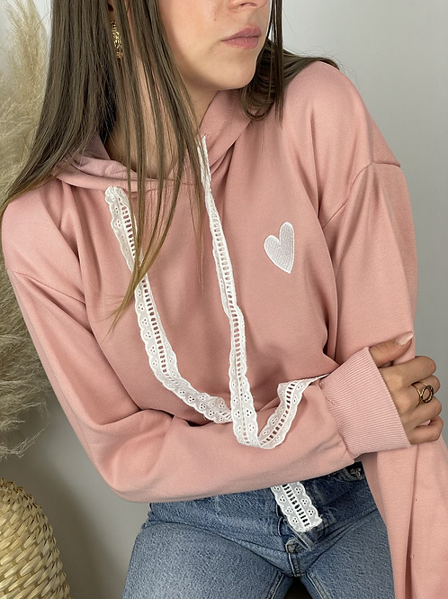 Pull Femme Coeur Collection Mini moi