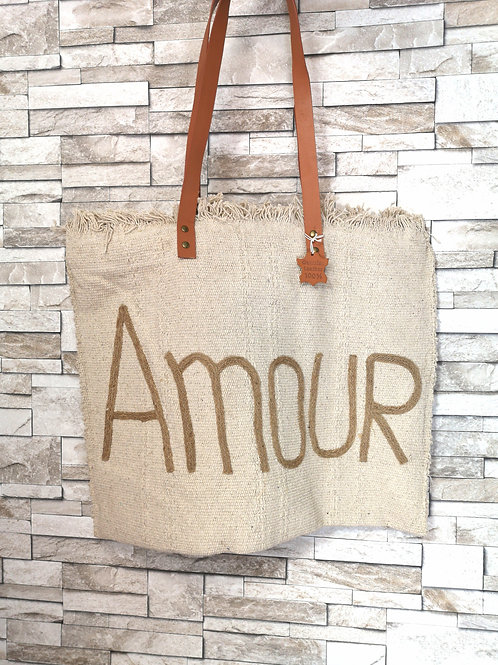Sac Amour Beige