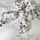 Thumbnail: Chouchou ruban fleuri